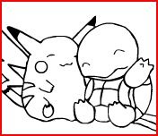 Disegni Pokemon da Colorare