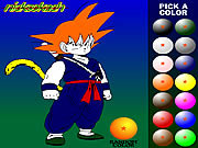 Giochi di Dragon Ball da Colorare
