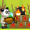 Giochi di Panda Online - Panda Flame Thrower